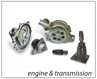 ENGINE AND GEAR BOX